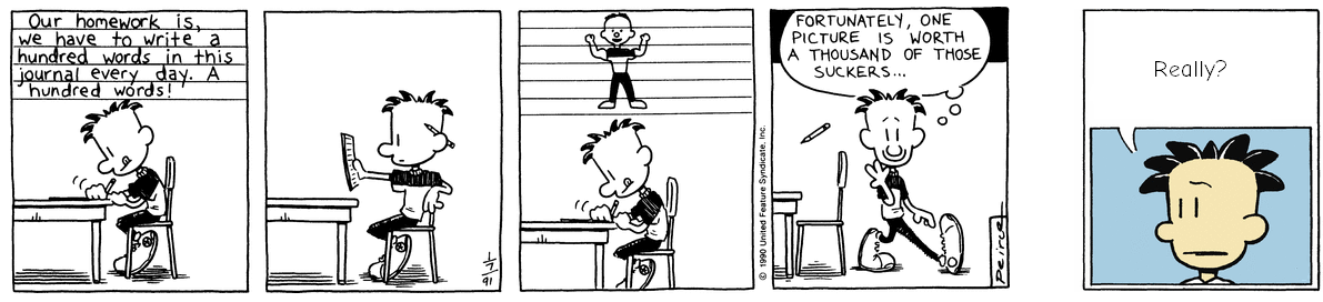 On the Origin of Big Nate
