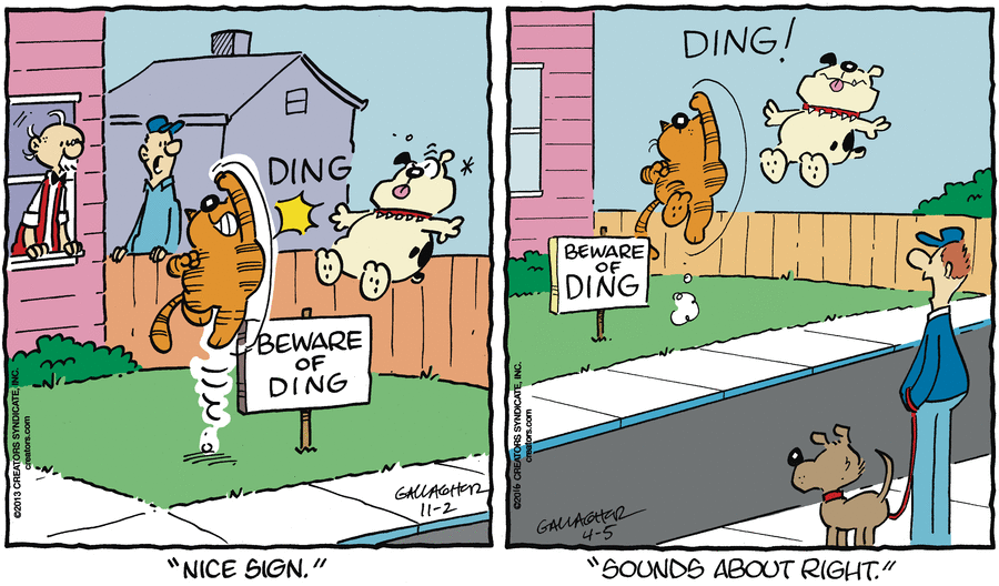 Spot the Difference with Heathcliff