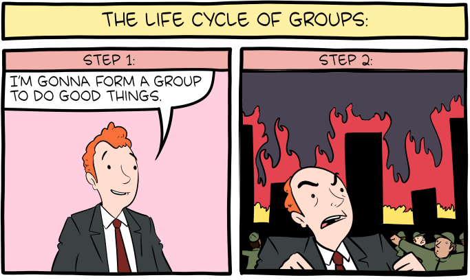 The Shorter Cycle of Groups