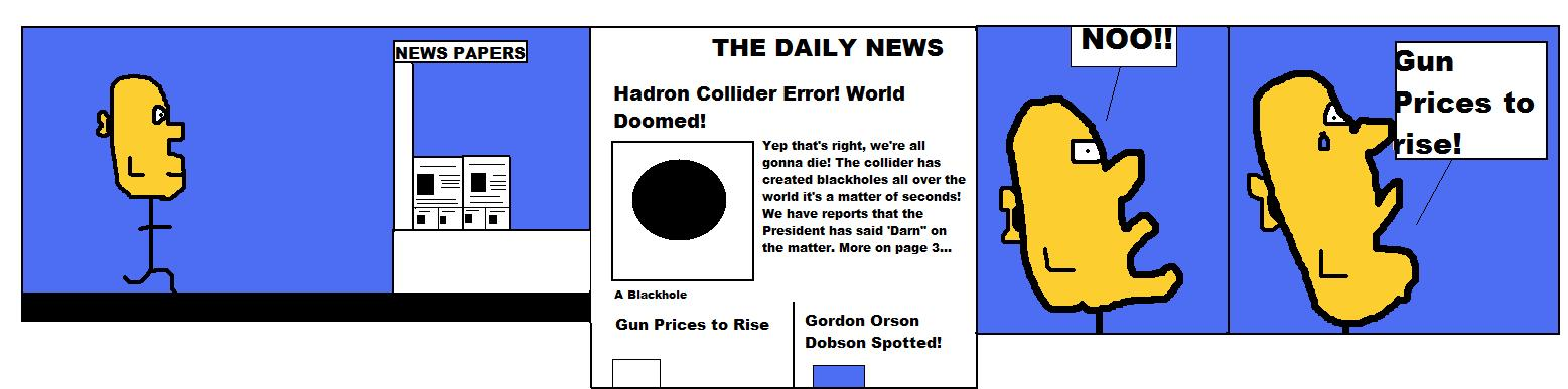 The Large Hadron Collider Destroys the World. Again.