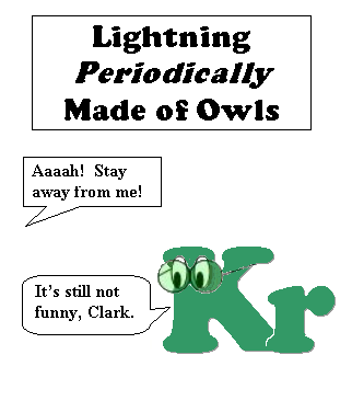 Lightning Periodically Made of Owls #5