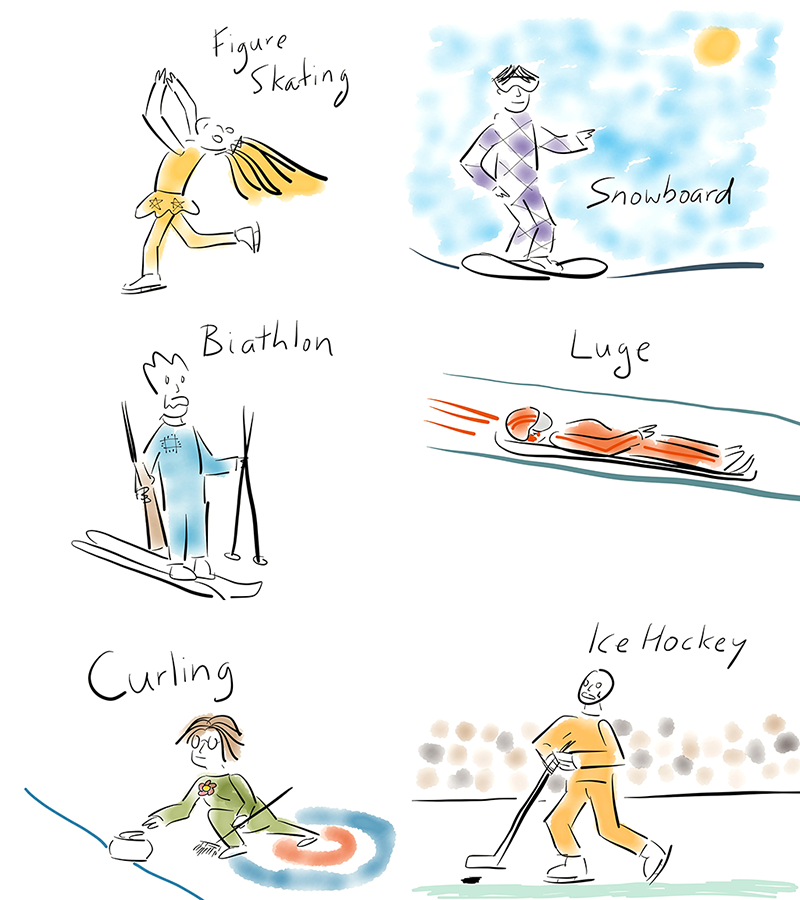 Winter Olympics Edition
