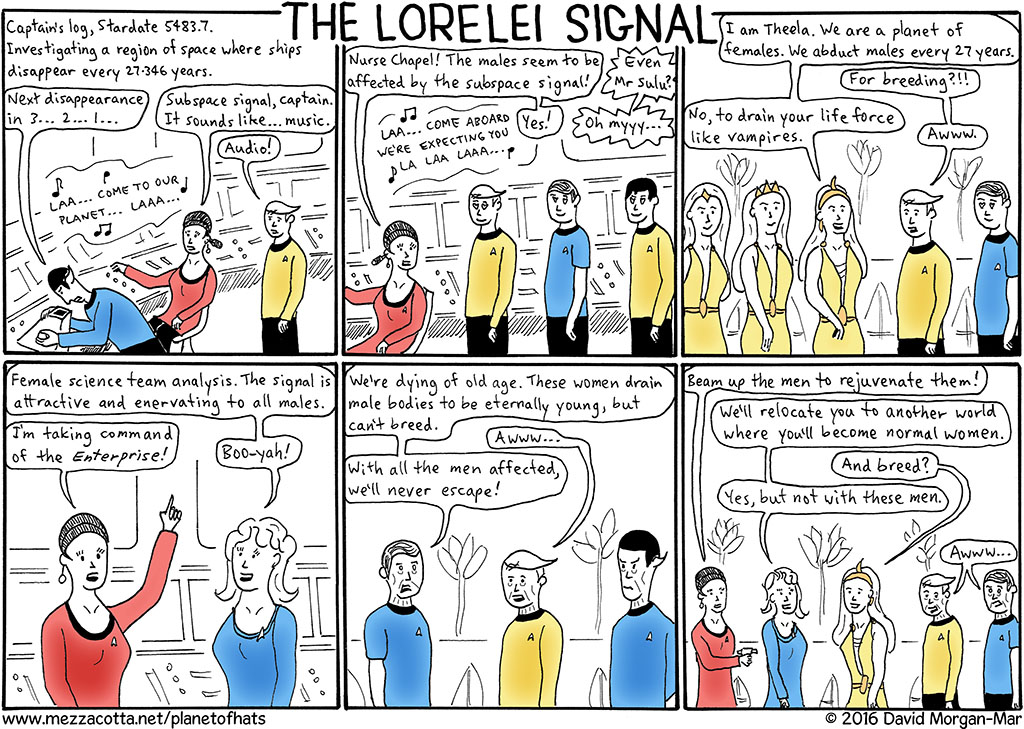 Episode A.4: The Lorelei Signal