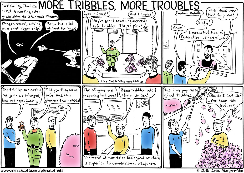 Episode A.5: More Tribbles, More Troubles