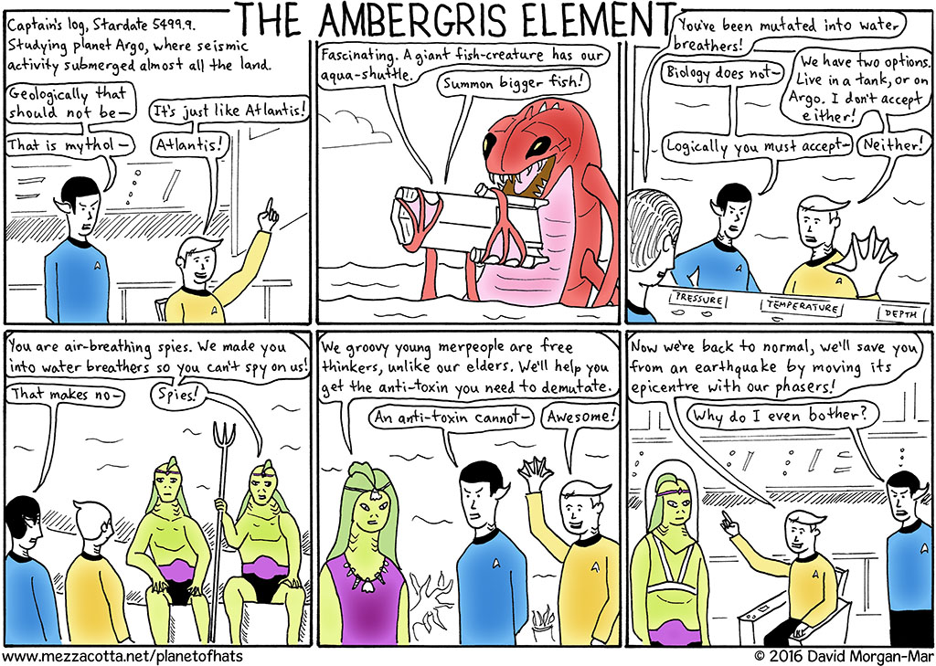Episode A.13: The Ambergris Element