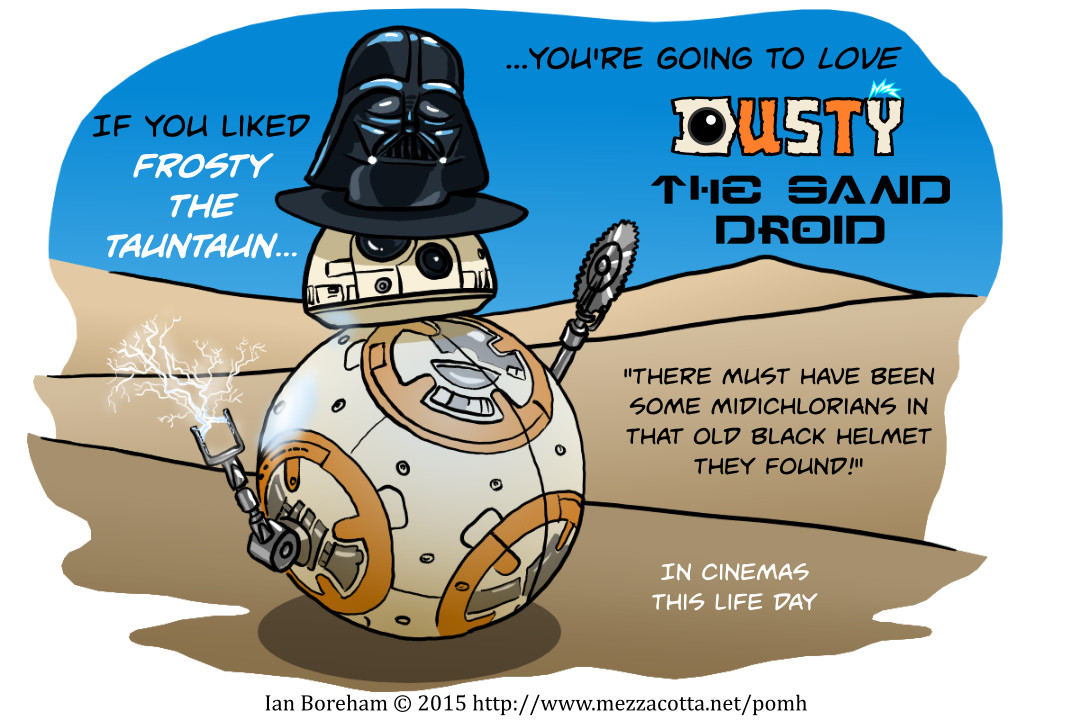 A rolling droid gathers no Mos