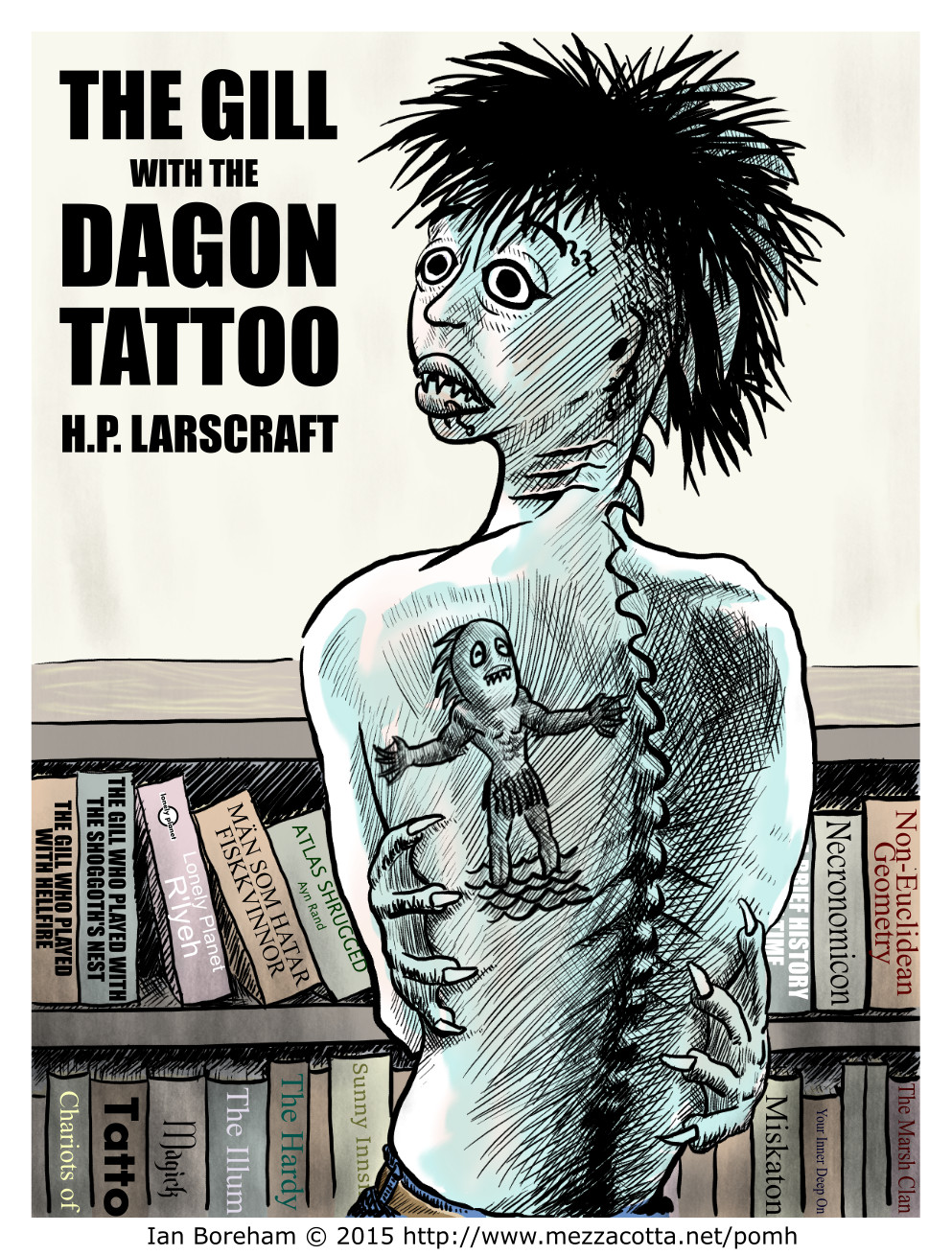 The Gill with the Dagon Tattoo